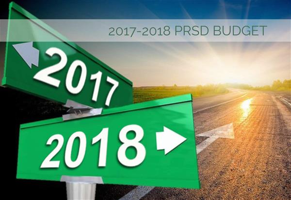2017-18 Budget Approved