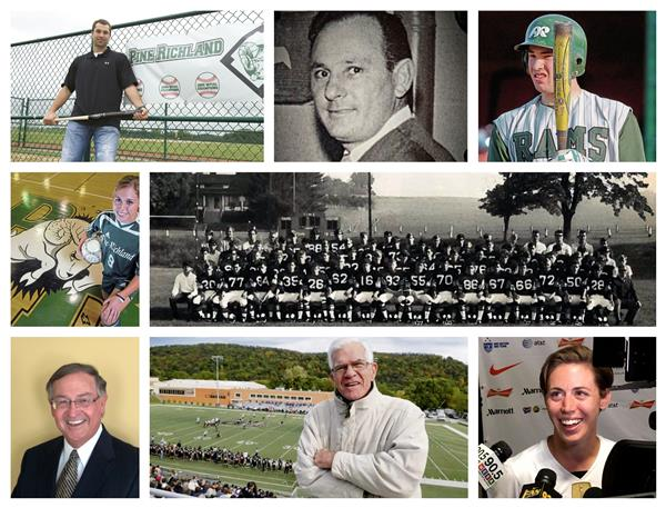 Athletic Hall of Fame Collage