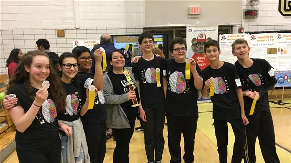 Team to Compete at PA Odyssey of Mind Competition