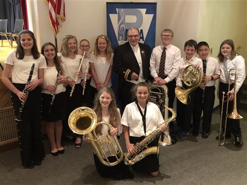 Students Selected for PMEA Honors Band