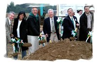 Administrators Break Ground