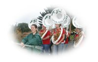 Band Marches at Groundbreaking Ceremony