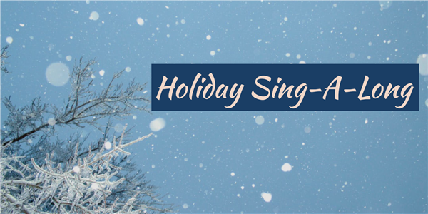 Join Us Virtually for the Staff & Student Sing-A-Long