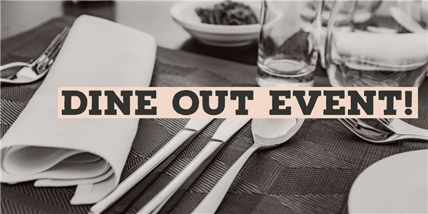 Join Us for Dine Out Event in January!