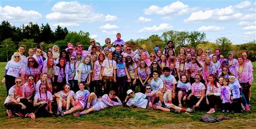 Peer-to-Peer Color Run