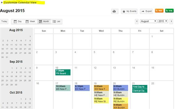 Simple Guide to Customizing Web Calendar
