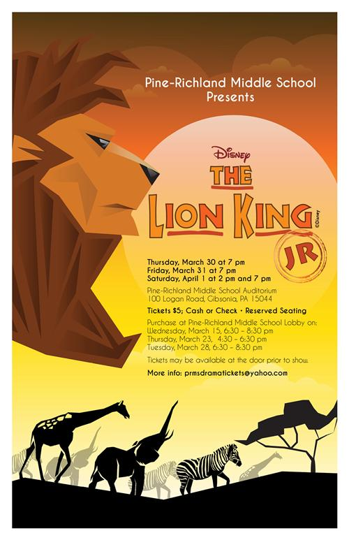 Pr Working On Its Roar For The Lion King Jr Musical