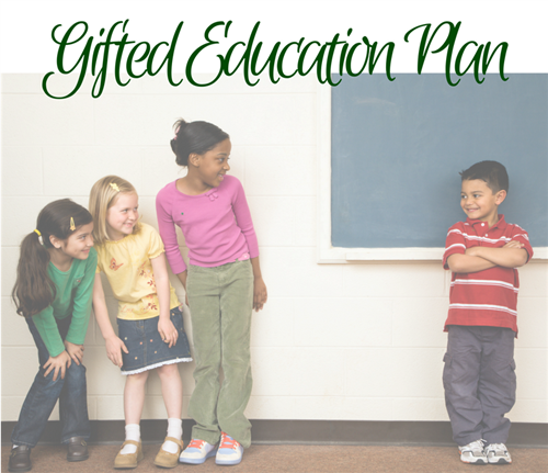 Gifted Education Plan Students Near Chalkboard