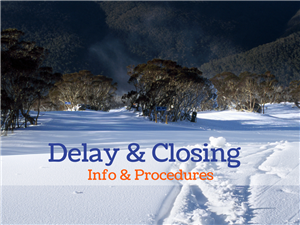 Delay and Closings Info