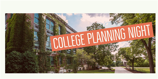 Join Us for Virtual College Planning Night