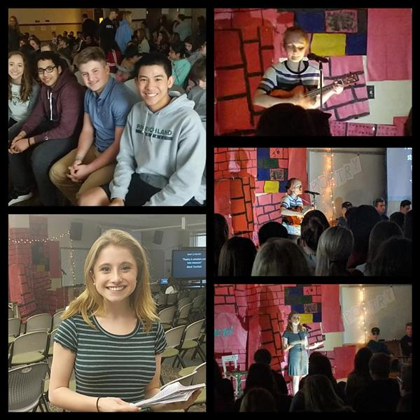 Poetry Jam Collage