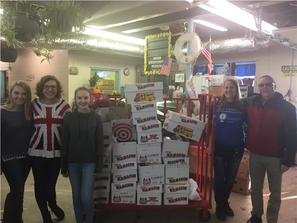 Thespians Collect 450 Pounds of Food