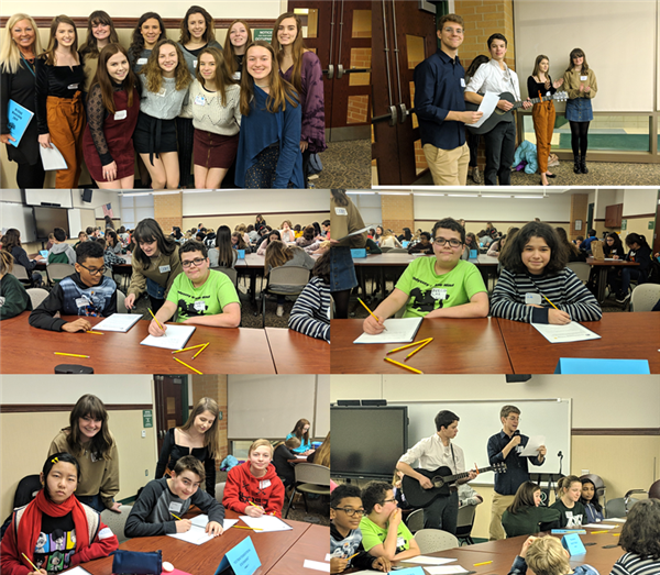 writing workshop collage