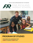 PRMS Program of Studies Cover
