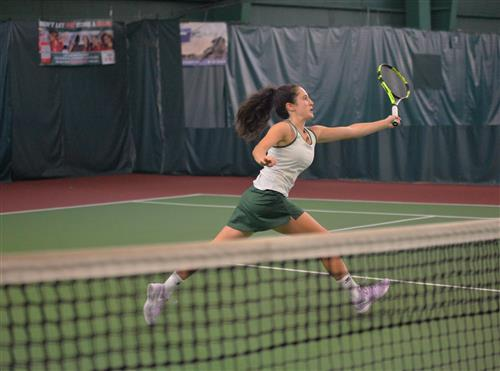 Senior Tennis Player Commits to Lafayette