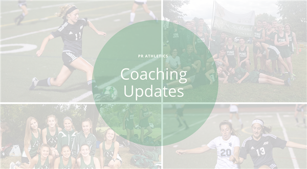 Coaching Updates