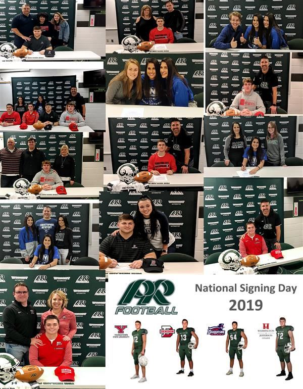 Signing Day Collage