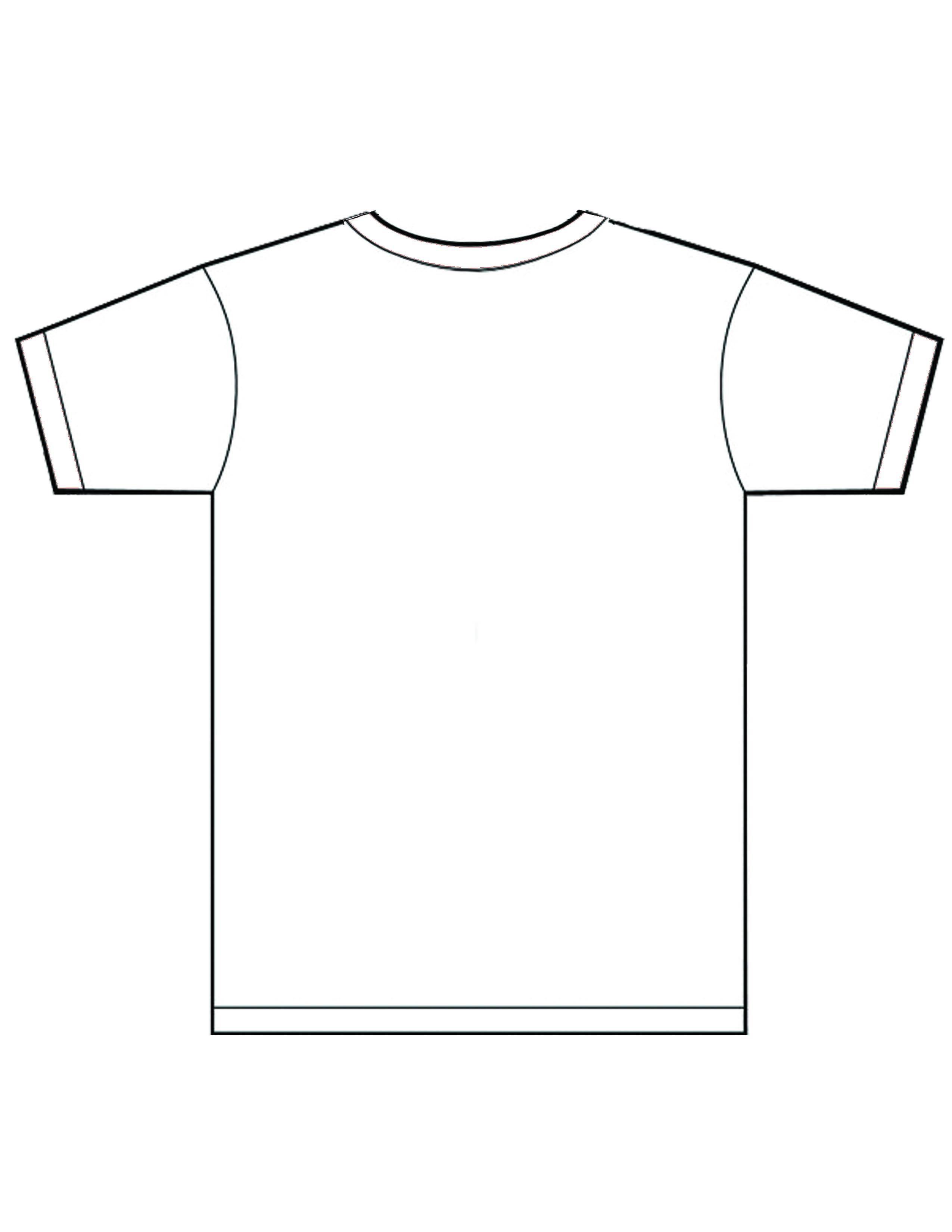 Art department 2d graphic design for Back t shirt template